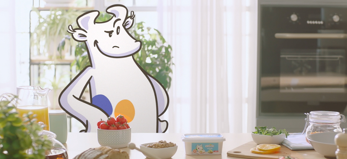 آگهی تلویزیونی پنیر سفید روزانه